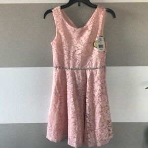 Pink Blingy Easter Dress